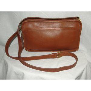 COACH Vintage Brown Leather Handbag #9974